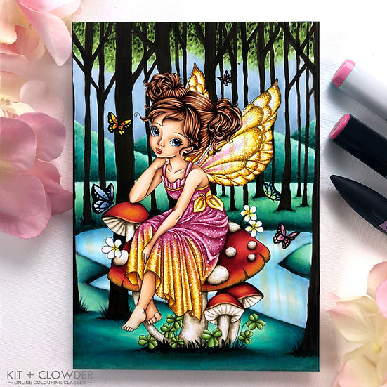 Whimsical Wonders Class - Markers