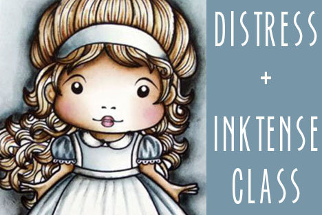 Distress Ink (+Inktense) Project Class