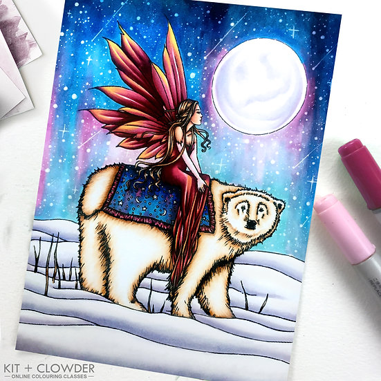 Fanciful Fairies Project - Markers