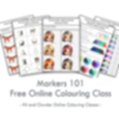 FREE Beginners Coloring Class for Copics, Spectrum Noir, Promarkers + more!