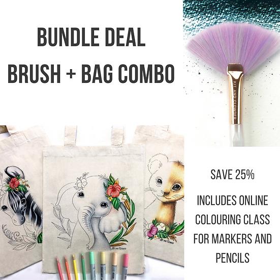 BUNDLE DEAL - Brush and Bag