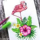 Tropical Flamingo wm 2.jpg