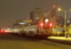 Photo, Amtrak train