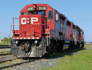 Photo Canadian Pacific Train
