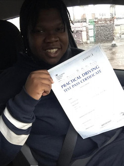 I passed with K!