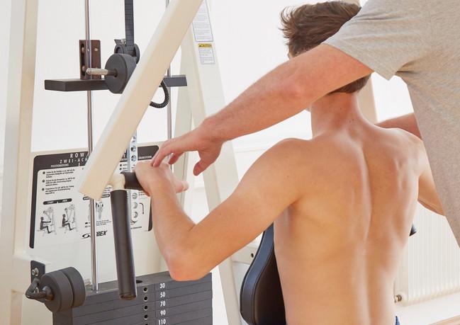 Anleitung zur Kräftigung des Schultergürtels