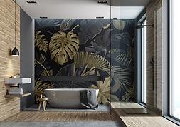 Wandgestaltungen für Bäder & Duschen