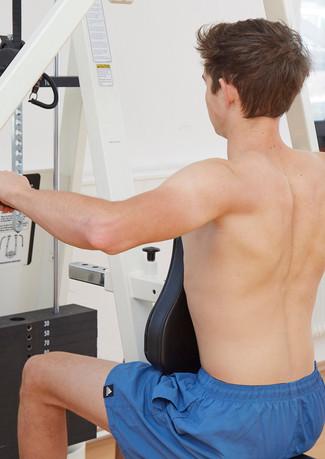 Kräftigung des Schultergürtels
