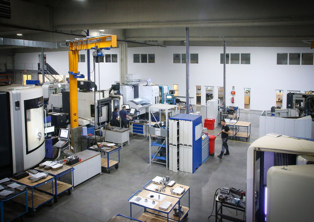 Tool Service - Rundgang durch Produktion 2