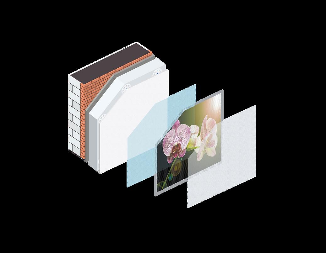 Fassadenbild_Systemaufbau_Ebenen_Vektore