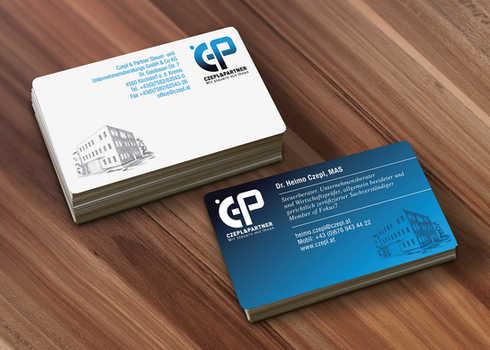 Czepl & Partner Visitenkarten