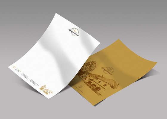 Gasthaus Geigenbauer Briefpapier