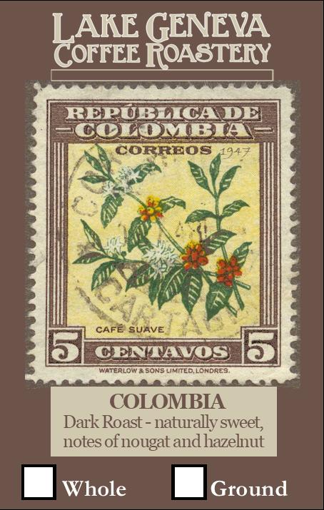 Colombian  12 oz