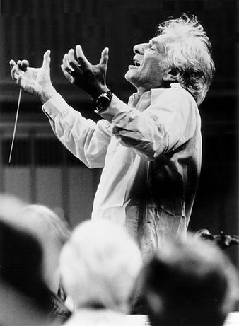 Leonard Bernstein by Paul de Hueck, Cour