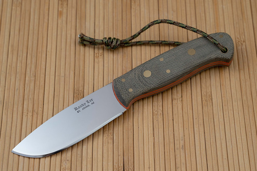 Canvas Micarta Utility Hunter