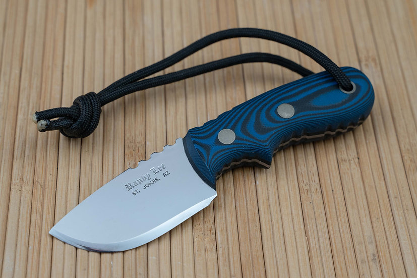 Blue and Black G-10 Utility