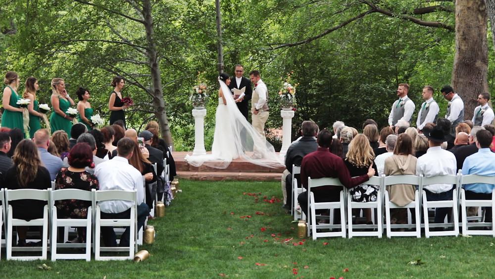 Outdoor Sedona Wedding Ceremony
