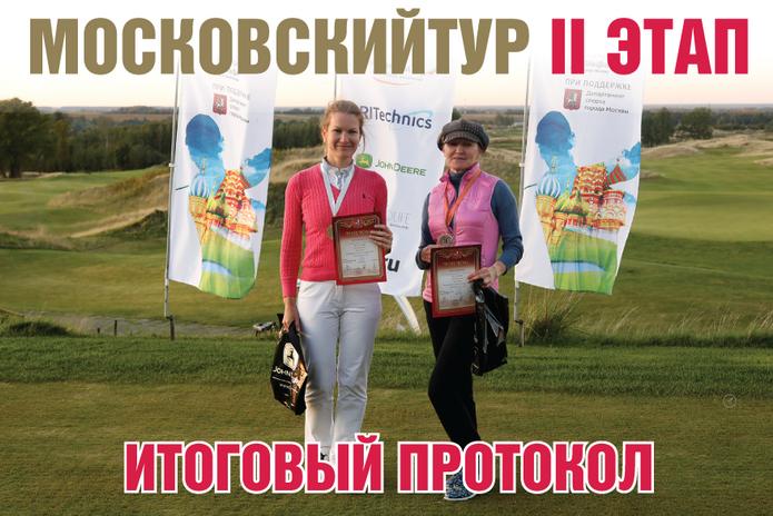 Итоги II этапа Московского тура по гольфу 2020 года