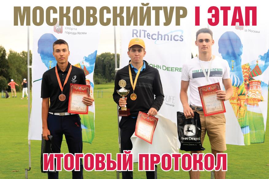 Итоги I этапа Московского тура по гольфу 2020 года