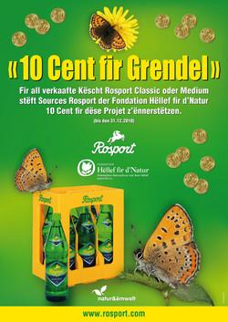 Rosport 10 Cent fir de Grendel