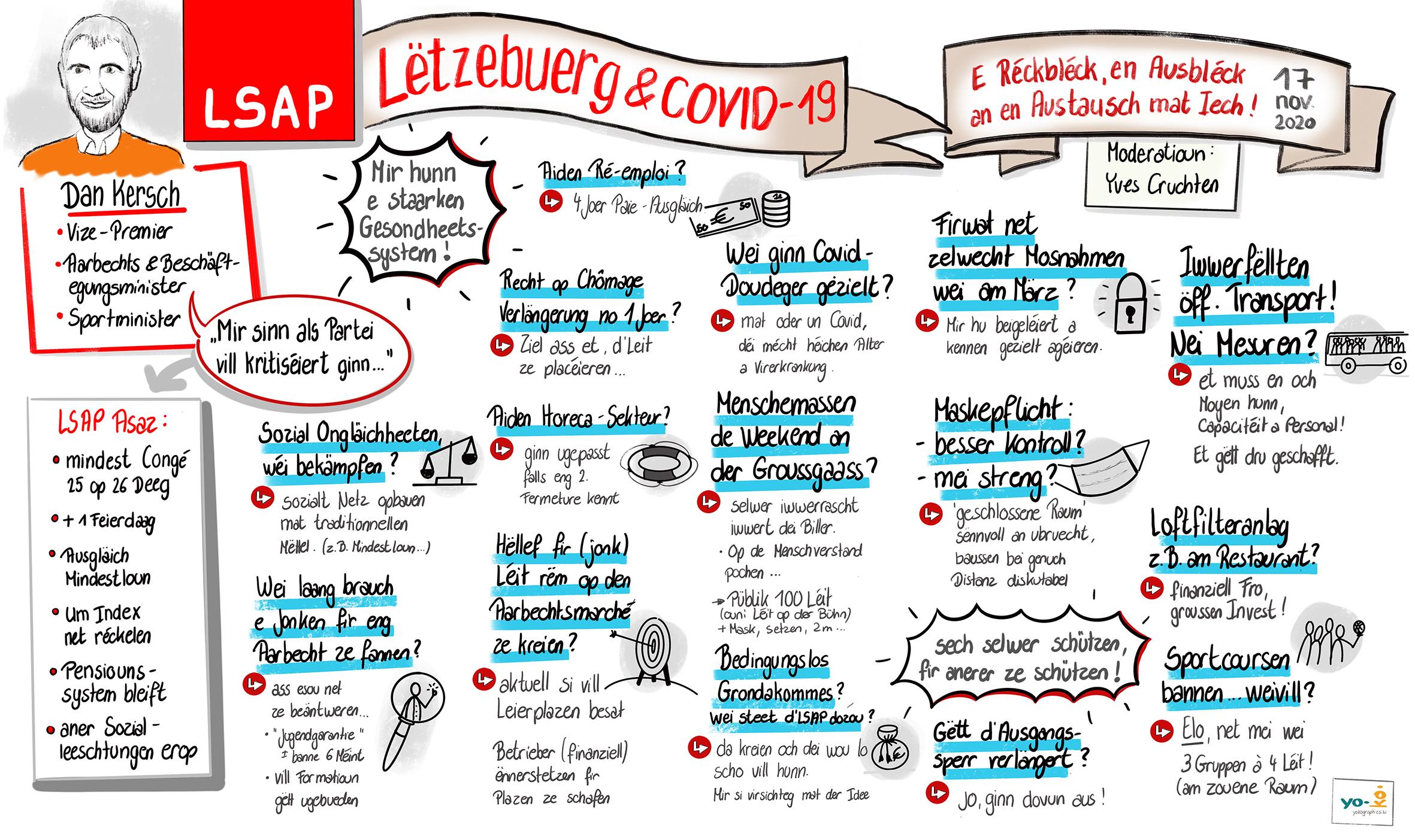 Conférence LSAP avec M. Dan Kersch