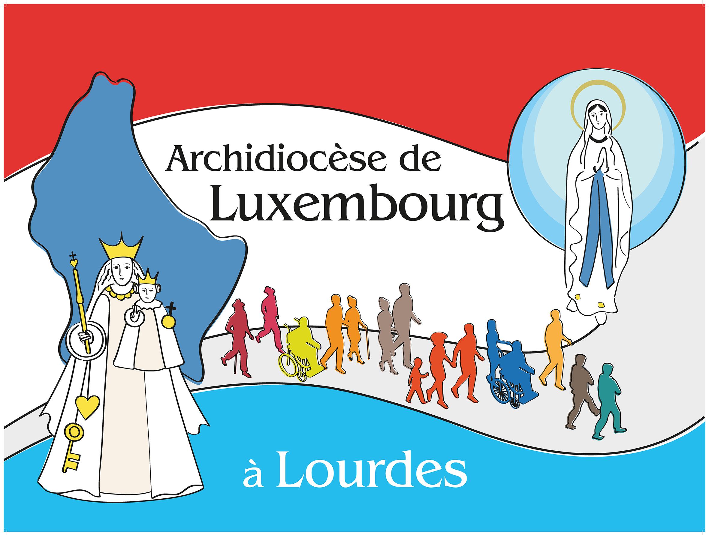 Archidiocèse Luxembourg Drapeau