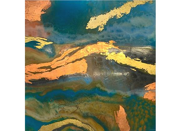 Turquoise Swirl