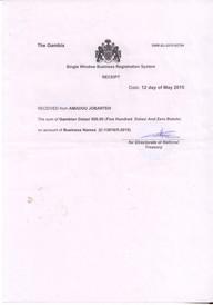 Business Registration