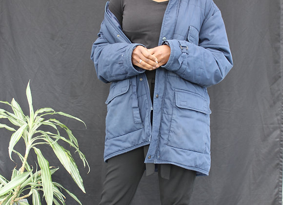 Doudoune bleu marine