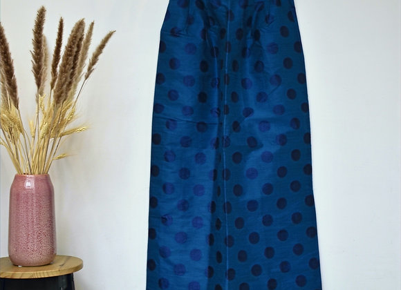 Jupe longue bleu foncé