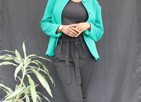 Veste turquoise Charlotte