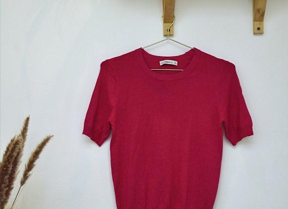 T-shirt rose Zara