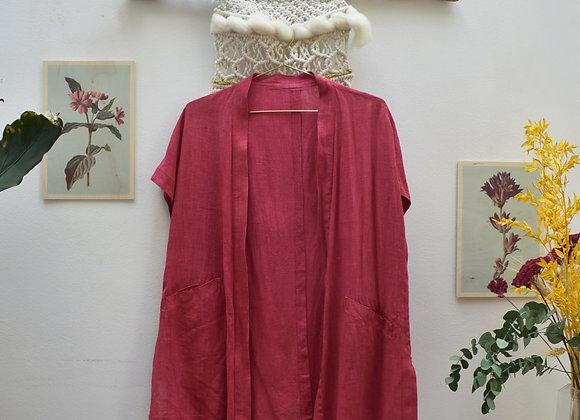gilet rouge/rose