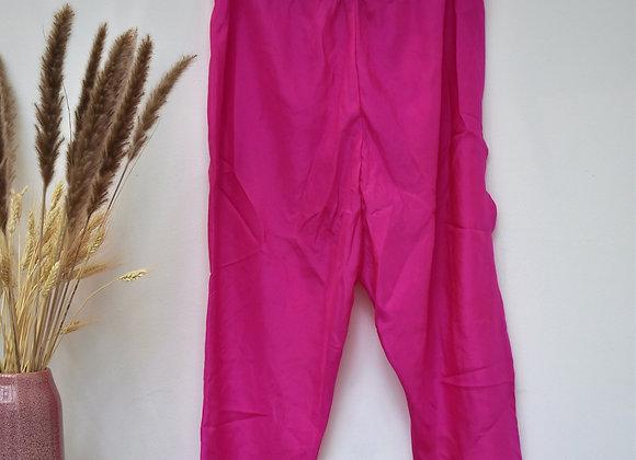 Pantalon rose fuschia