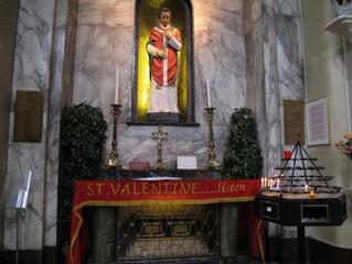 San Valentín está enterrado en....¡Dublín!