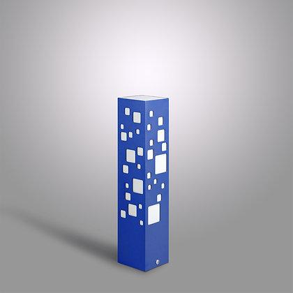 Синий уличный светильник Tower BC-370 c LED лампой 10Вт