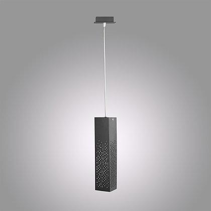 Подвесной светодиодный светильник темно-серого цвета Marix GH-370