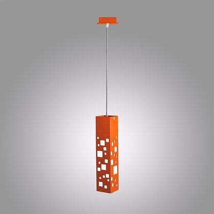 Подвесной светодиодный светильник оранжевого цвета Tower OH-370