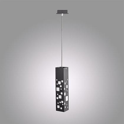 Подвесной светодиодный светильник темно-серого цвета Tower GH-370