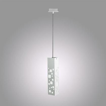 Подвесной светодиодный светильник светло-серого цвета Tower SH-370