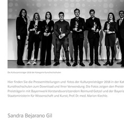 Kulturpreises Bayern 2018