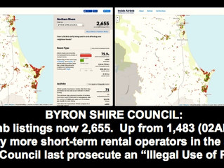 HELLO, BYRON COUNCIL? WE'D LIKE TO REPORT MORE ILLEGAL ACTIVITY