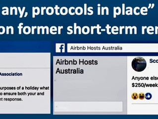 REGIONAL NSW TO OPEN FOR BUSINESS.  COVID-19 – AIRBNB RENTALS – HOW CLEAN IS 'CLEAN'?