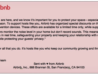 IF AIRBNB CAN MAKE $$$s OUT OF DEATH, DESTRUCTION AND NEIGHBOURS' MISERY...
