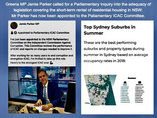 ICAC – JAMIE PARKER MP, WILL YOU?