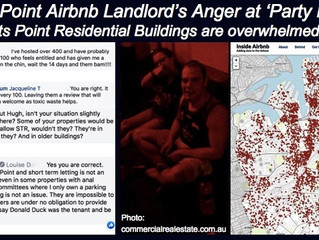"""AIRBNB LANDLORD'S """"ANGER…"""" AT ROUDY NEIGHBOURS"""