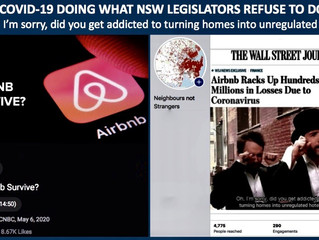IS COVID-19 DOING WHAT NSW LEGISLATORS REFUSE TO DO?