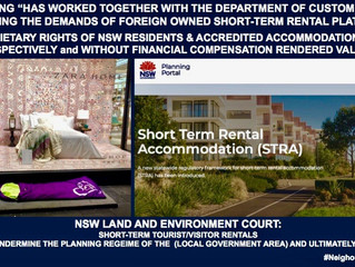 CORRUPTION?  NSW PLANNING TO RUN WORKSHOPS FOR COUNCILSTO ASSIST IN CONVERTING RESIDENTIAL HOUSING