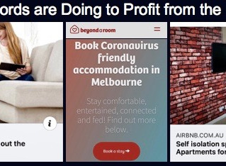 WHAT AIRBNB LANDLORDS ARE DOING TO PROFIT FROM THE CORONAVIRUS CRISIS