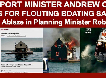 AIRBNB RESPONDS TO UPCOMING EU DIGITAL SERVICES ACT, While Fire Engulfs Palm Beach Airbnb Boat House